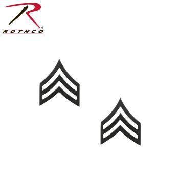 Rothco Sergeant Polished Insignia-