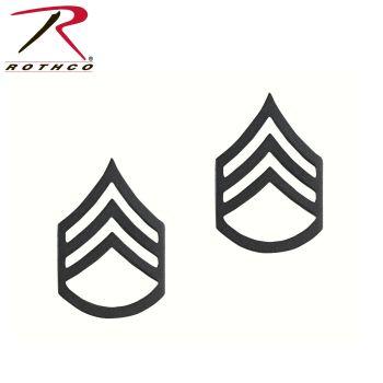 Rothco Staff Sergeant Polished Insignia-Rothco