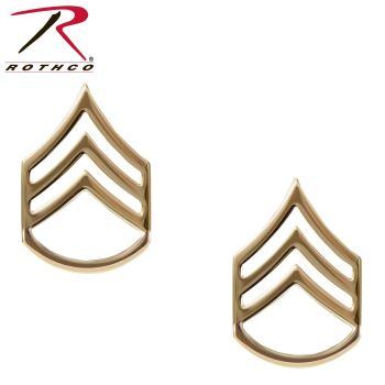 Rothco Staff Sergeant Polished Insignia-