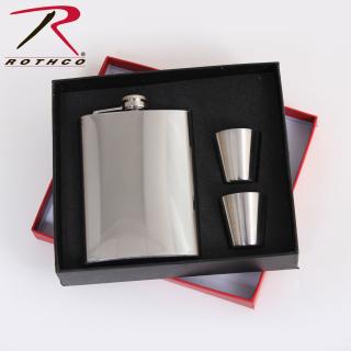 Rothco Stainless Steel Flask Gift Set-Rothco