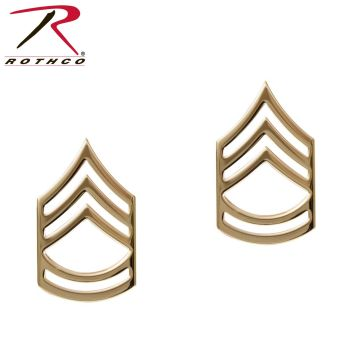 Rothco Sergeant First Class Polished Insignia Pin-