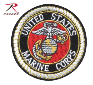 Rothco Deluxe USMC Round Patch-