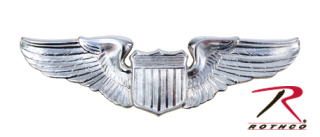 Rothco USAF Pilot Wing Pin-Rothco