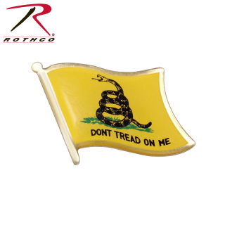 Rothco Dont Tread On Me Flag Pin-Rothco