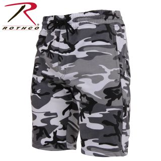 Rothco Camo Sweat Shorts-