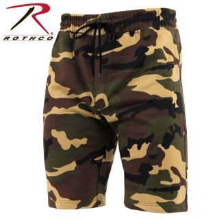 Rothco Camo Sweat Shorts-