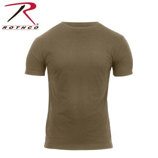 Rothco Athletic Fit Solid Color Military T-Shirt-