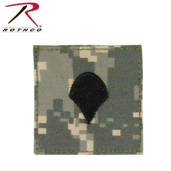 Rothco Official U.S. Made Embroidered Rank Insignia Spec-4-Rothco