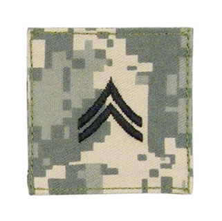 Official U.S. Made Embroidered Rank Insignia - Corporal-Rothco