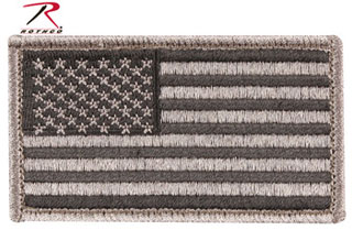 Foliage American Flag Patch With Hook & Loop-Rothco