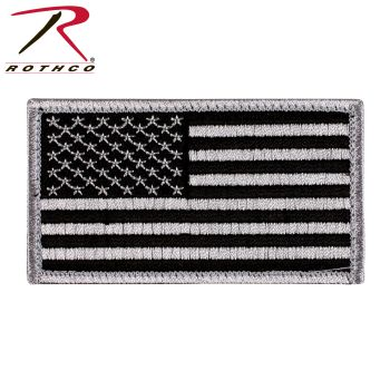 Rothco American Flag Patch - Hook Back-