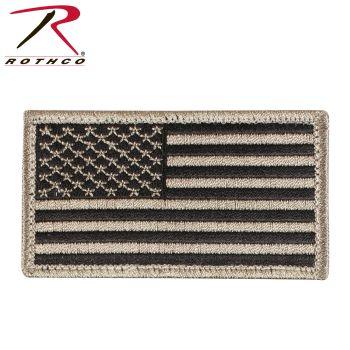 Rothco American Flag Patch - Hook Back-Rothco