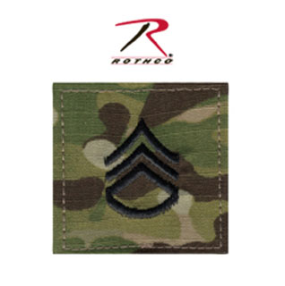 1796_Rothco Official U.S. Made Embroidered Rank Insignia Staff Sergeant Patch-