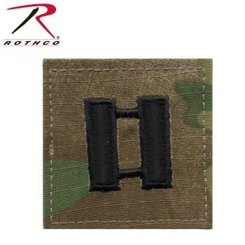 Official U.S. Made Embroidered Rank Insignia - Captain Insignia-Rothco