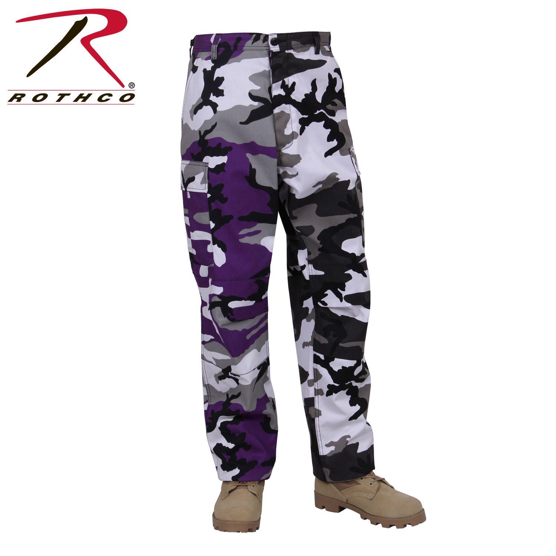 Rothco Two-Tone Camo BDU Pants-Rothco