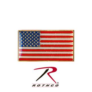 Rothco Classic Rectangular US Flag Pin-