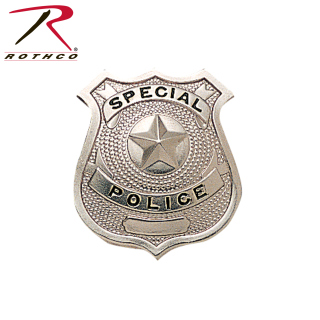 Rothco Special Police Badge-