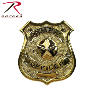 Rothco Security Officer Badge-