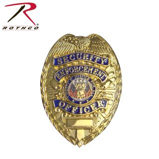 Rothco Deluxe Security Enforcement Officer Badge-