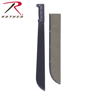 Rothco Bush Pro Steel Machete w/Sheath