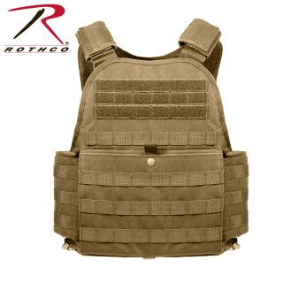 1923_Rothco MOLLE Plate Carrier Vest-Rothco