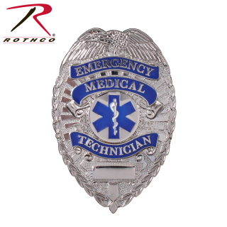 Rothco Deluxe EMT Badge-