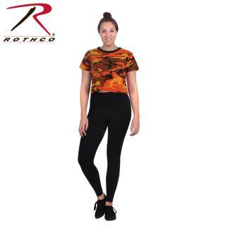 Rothco Womens Camo Crop Top-