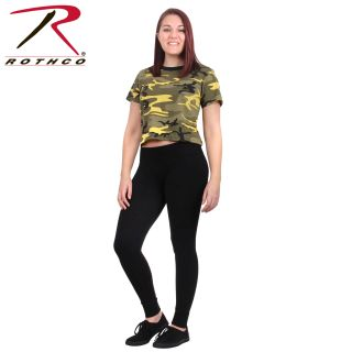 Rothco Womens Camo Crop Top-