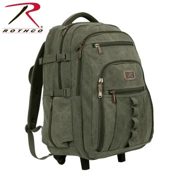 Rothco Rolling Canvas Backpack-