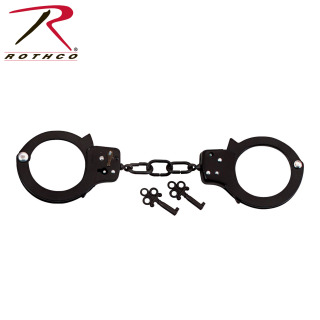 Rothco Double Lock Steel Handcuffs-