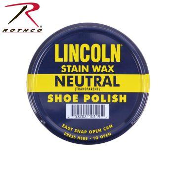 Lincoln U.S.M.C. Stain Wax Shoe Polish-