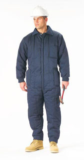 2027 Navy Blue Insulated Coverall