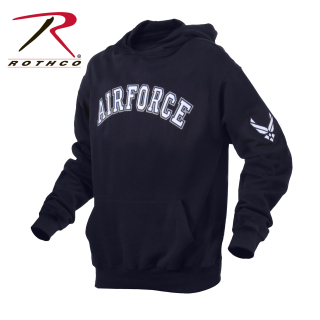 2047 Rothco Air Force Pullover Hoodie-Blue