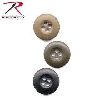Rothco BDU Buttons Bag of 100-