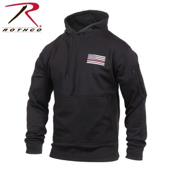 2066_Rothco Thin Red Line Concealed Carry Hoodie-