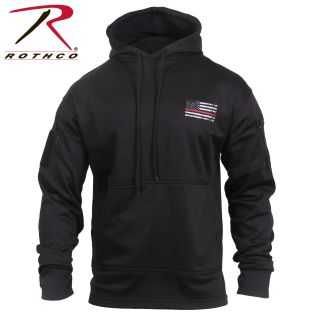 2068_Rothco Thin Red Line Concealed Carry Hoodie-