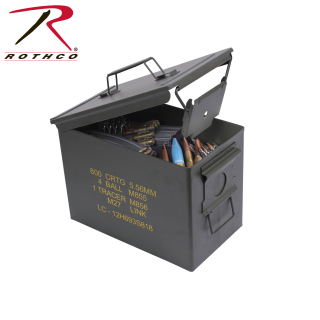 Rothco Mil Spec Ammo Cans-Rothco