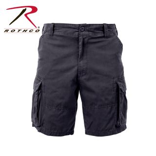 2132_Rothco Vintage Solid Paratrooper Cargo Shorts-Rothco