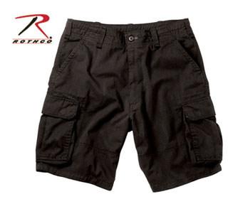 2133 Rothco Vintage Cargo Short - Black