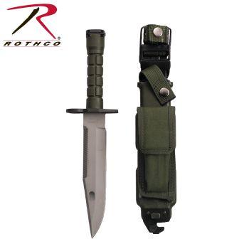 Rothco G.I. Type M-9 Bayonet W/ Sheath-Rothco