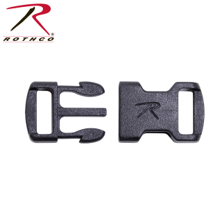 Rothco 3/8 Flat Side Release Buckle-