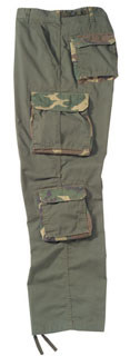 2147 Rothco Vintage Olive Drab w/Woodland Camo Accent Fatigues