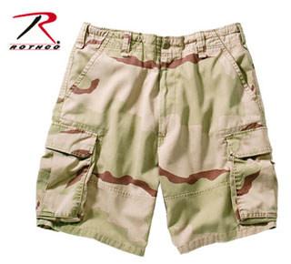 2151 Rothco Vintage Cargo Short - Tri Color Camo
