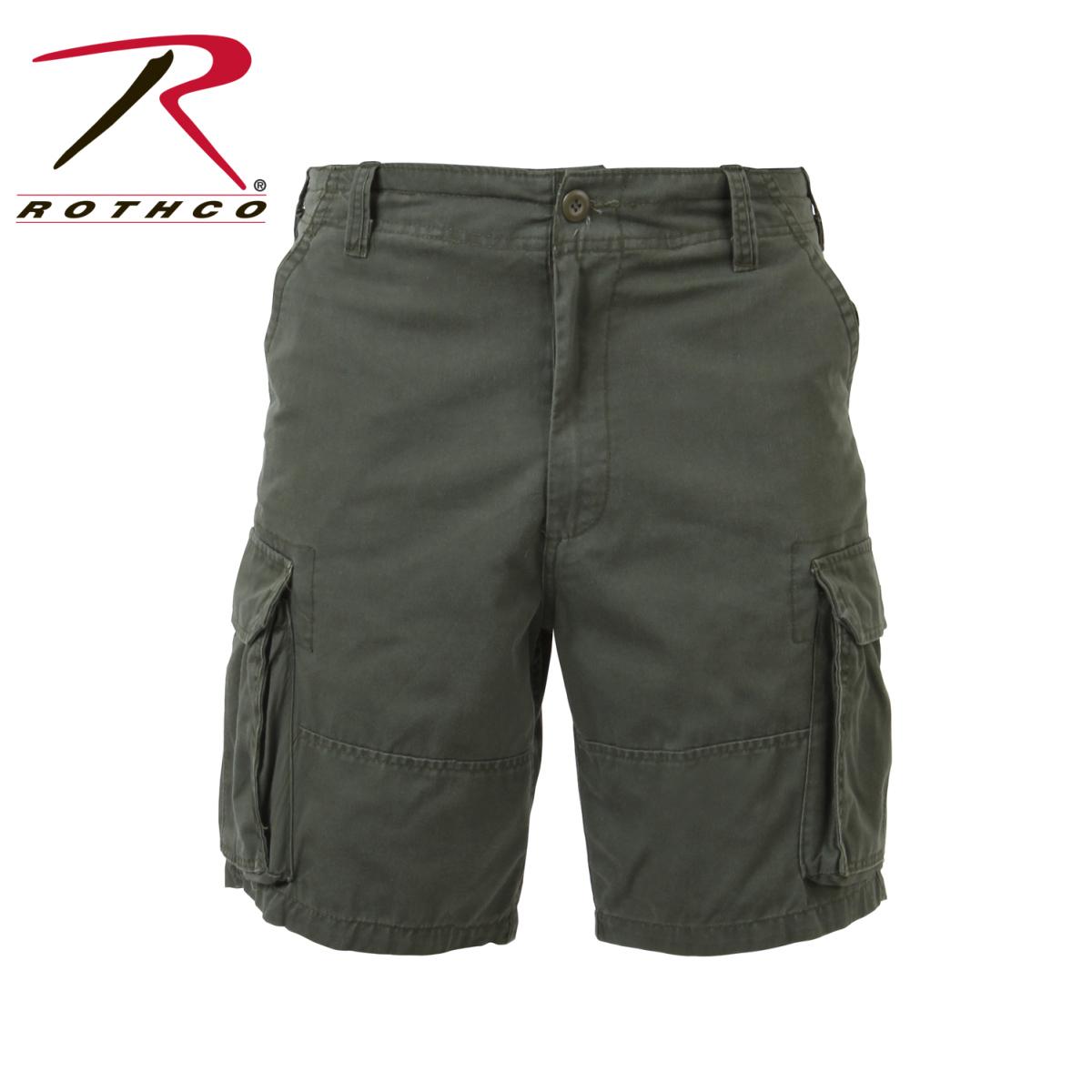 Vintage Fatigue Shorts