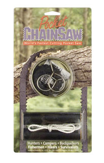 'Short Kutt'' Pocket Chain Saw