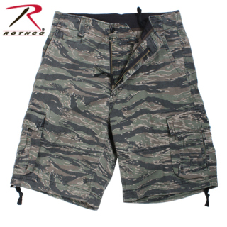 Rothco Vintage Infantry Utility Shorts-Tiger Stripe