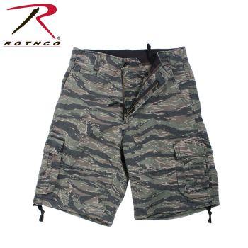 2215 Rothco Vintage Infantry Utility Shorts-Tiger Stripe