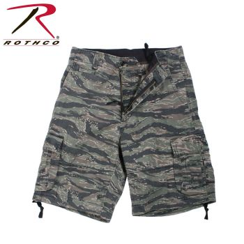 2216 Rothco Vintage Infantry Utility Shorts-Tiger Stripe