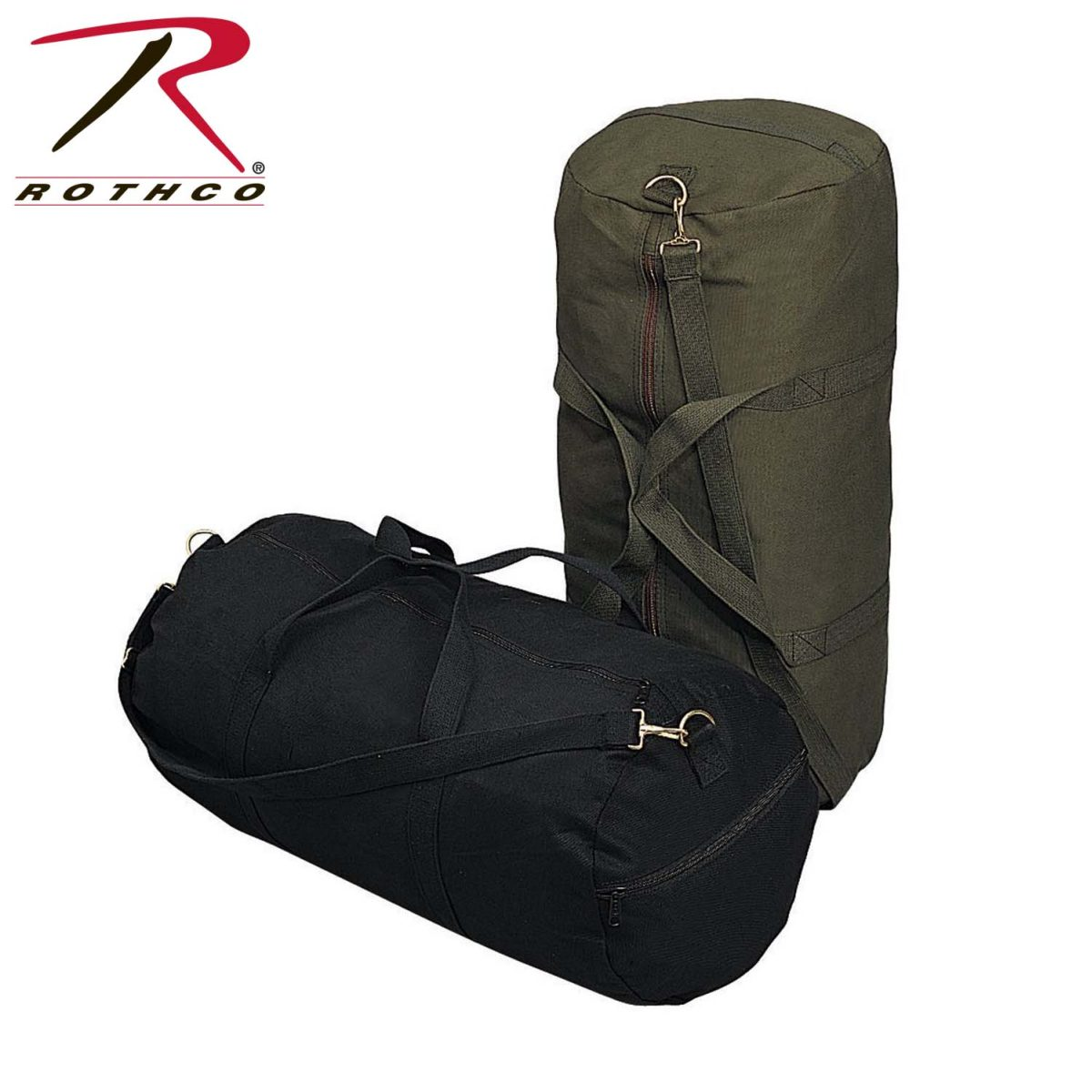 d65fe7e8fd Buy Rothco Canvas Shoulder Duffle Bag - 24 Inch - Rothco Online at ...