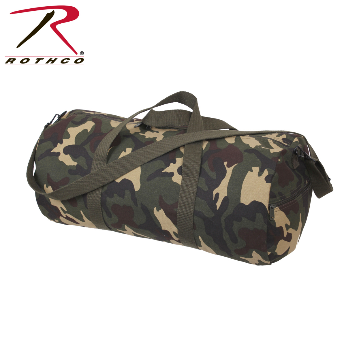 f1c5951b0a5 Buy Rothco Canvas Shoulder Duffle Bag - 24 Inch - Rothco Online at ...